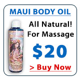 Maui Moisturizing Body & Massage Oil
